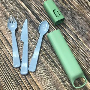 Other - Plastic Camping Cutlery / Silverware Set